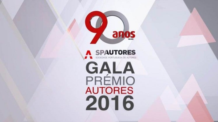 Gala Prémio Autores 2016
