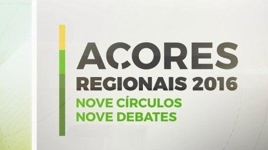 Eleições Regionais - Açores  2016 - 9 Circulos, 9 Debates