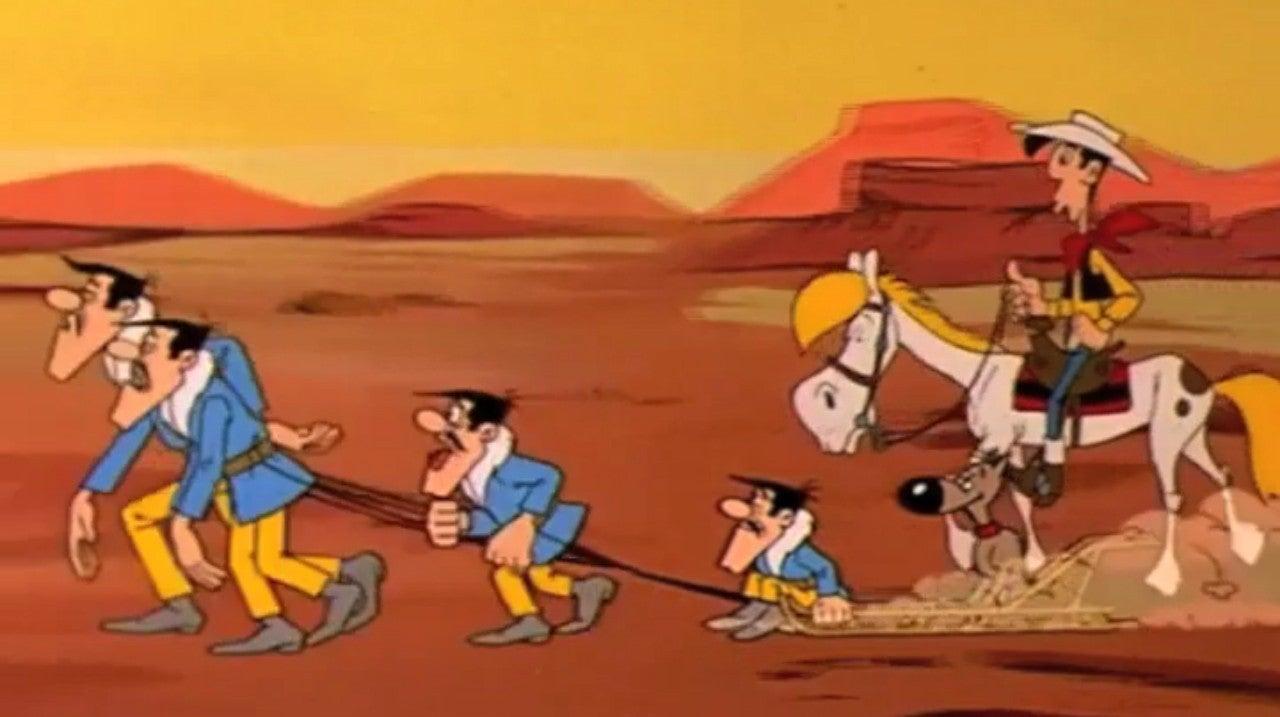 Lucky Luke - Os Dalton À Solta