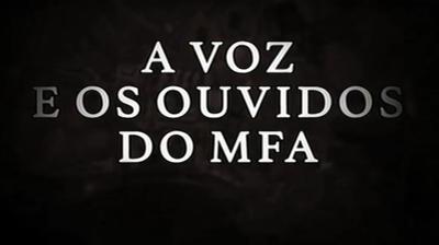 Play - A Voz e os Ouvidos do MFA