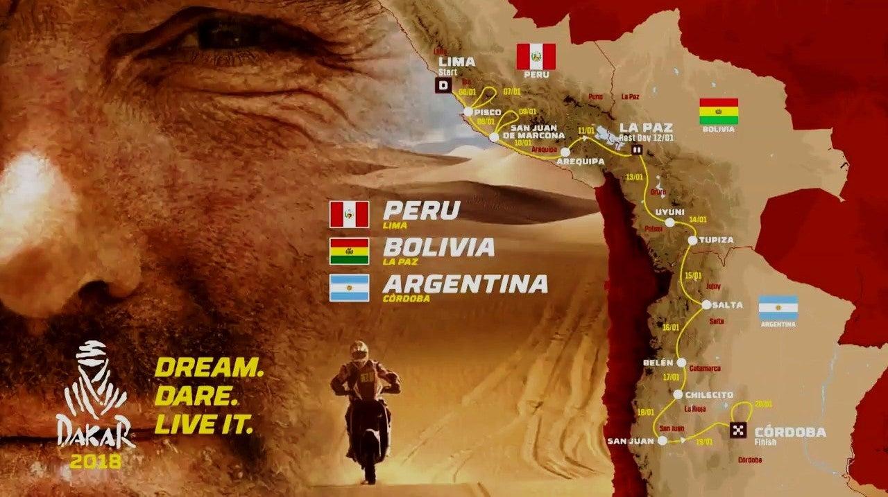 Automobilismo: Dakar 2018