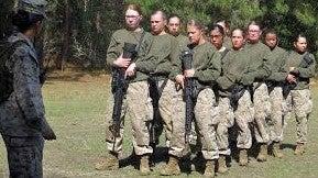 Por dentro do exército feminino