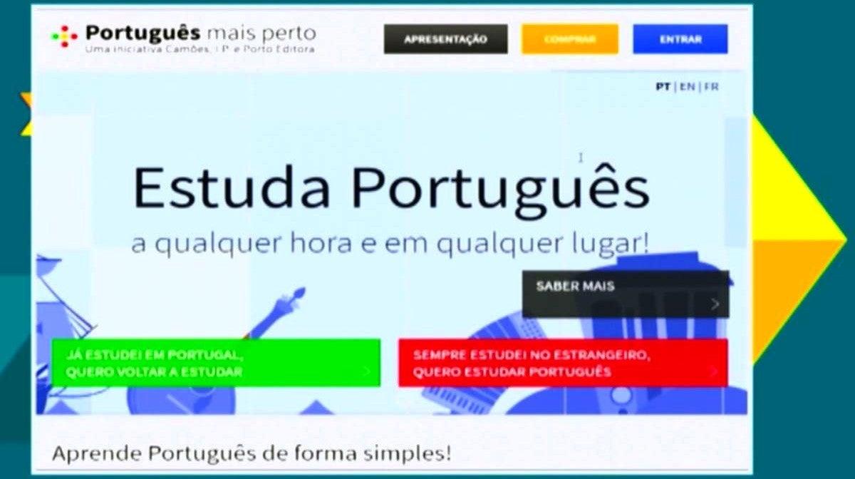 Aprender Português à Distância