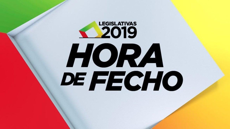 Eleições Legislativas 2019 - Hora de Fecho