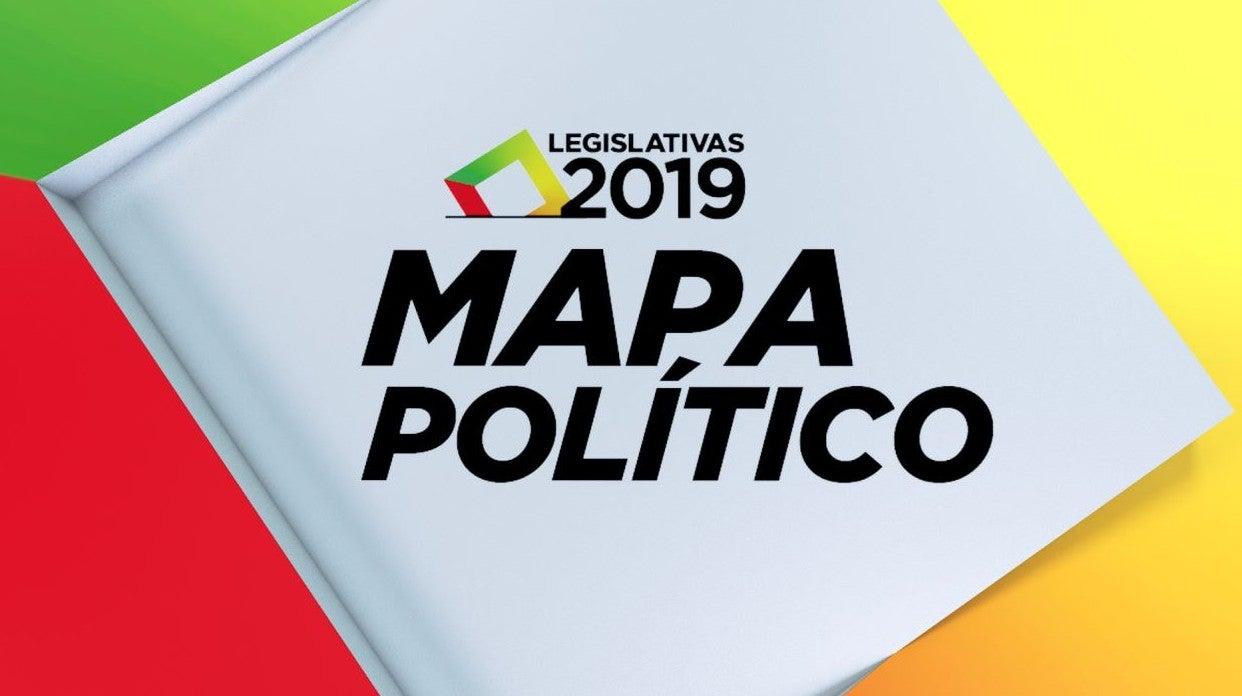 Eleições Legislativas 2019 - Mapa Político