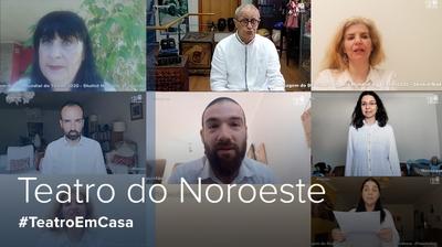 Play - Dia Mundial do Teatro - Mensagem Teatro do Noroeste