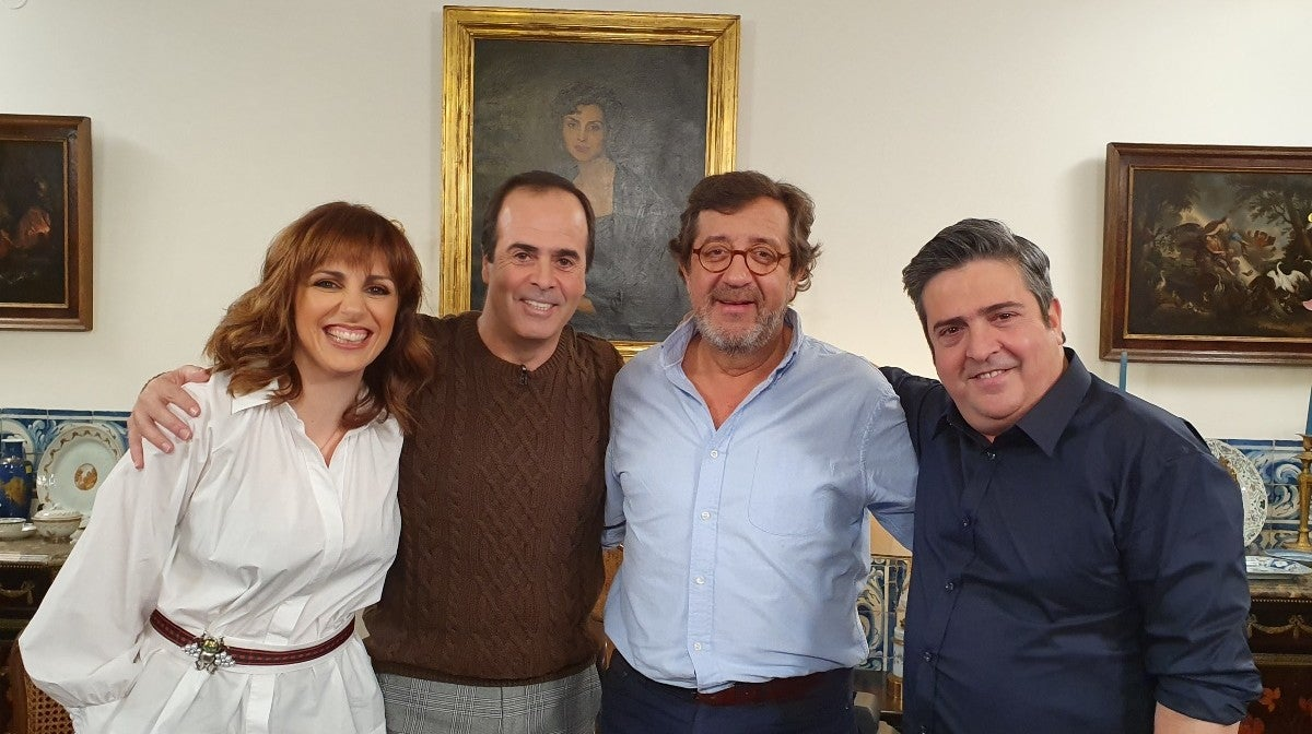 Kátia Guerreiro, Rui Veloso, Hélder Moutinho, João Mário Veiga, Pedro de Castro
