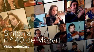 Play - 1º Andamento da Sinfonia n.º 40 de Mozart