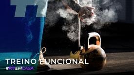 Fit em Casa: Treino Funcional - Cátia Almeida: Esmaga Bola