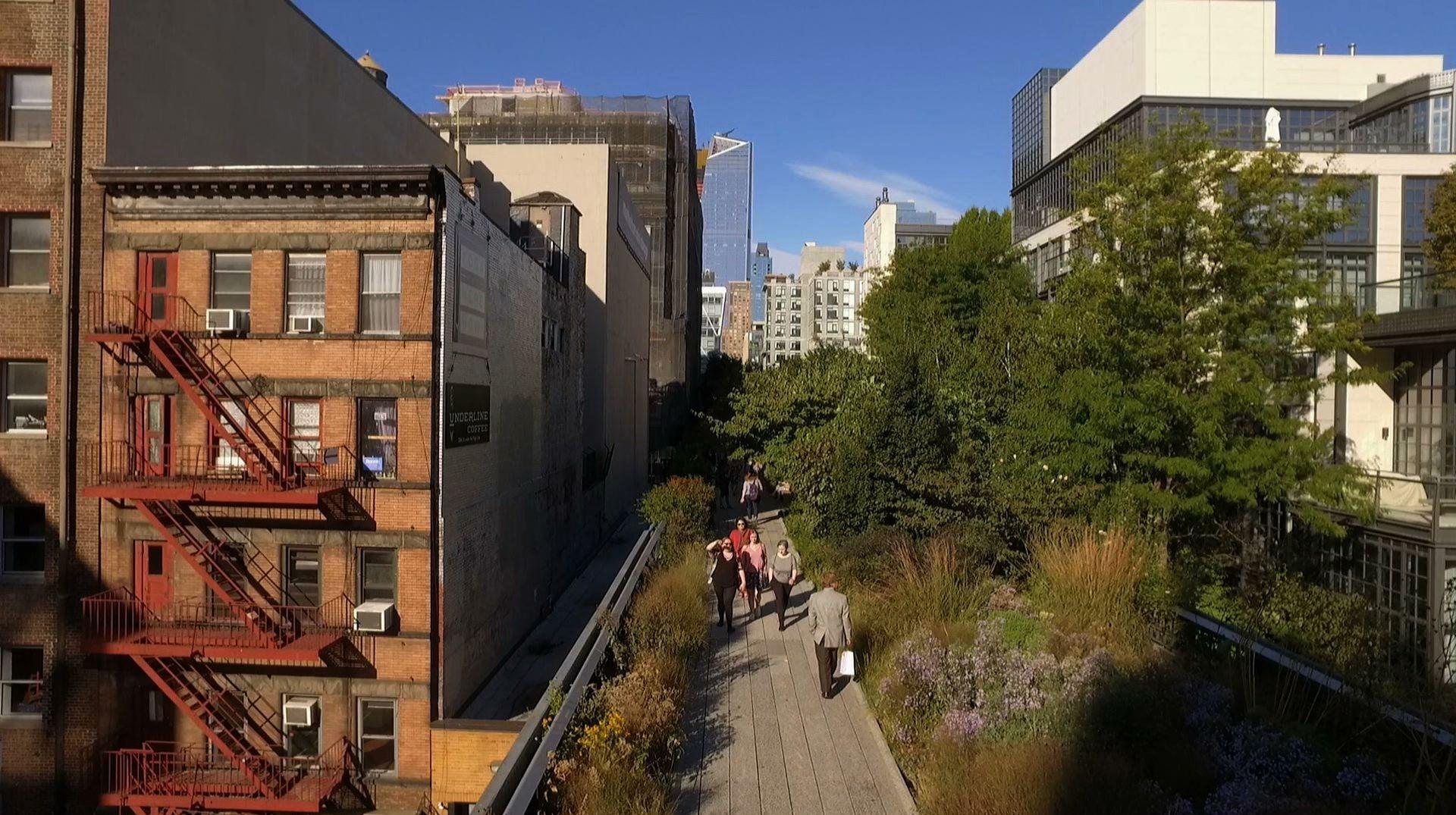 Jardins Suspensos da High Line (EUA)