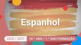 Espanhol - 10.º Ano - Aunque llueva, iré a entrenar.