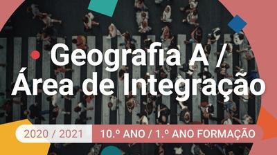 Play - Geografia A / Área de Integração - 10.º Ano