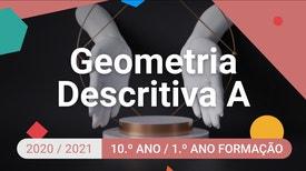 Geometria Descritiva A - 10.º Ano - Cilindros: representação de pontos nas suas superfícies.