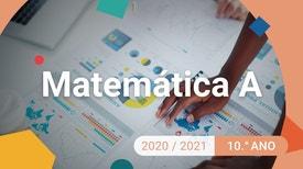 Matemática A - 10.º Ano - Função quadrática