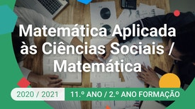 Matemática Aplicada às Ciências Sociais / Matemática - 11.º Ano - A trigonometria e os modelos periódicos.