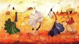Raízes - Música do Afeganistão, desde as influências hindustânicas às do repertório persa. Solo de tabla, por Sair Hashimi; Raga Bhairavi, por Ustad Essa Kassimi; Délé Mara Bordi e Mahali, pelo Ensemble Kaboul.