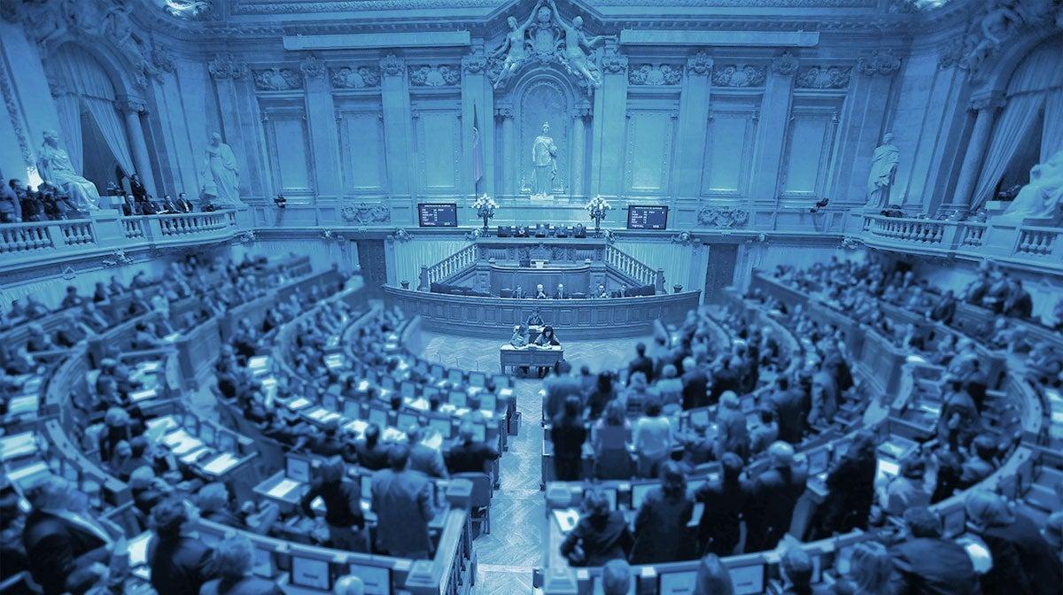 debate no Parlamento