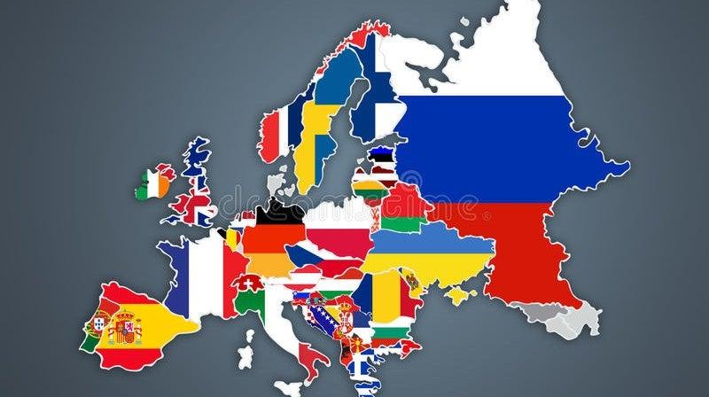 A Europa num minuto
