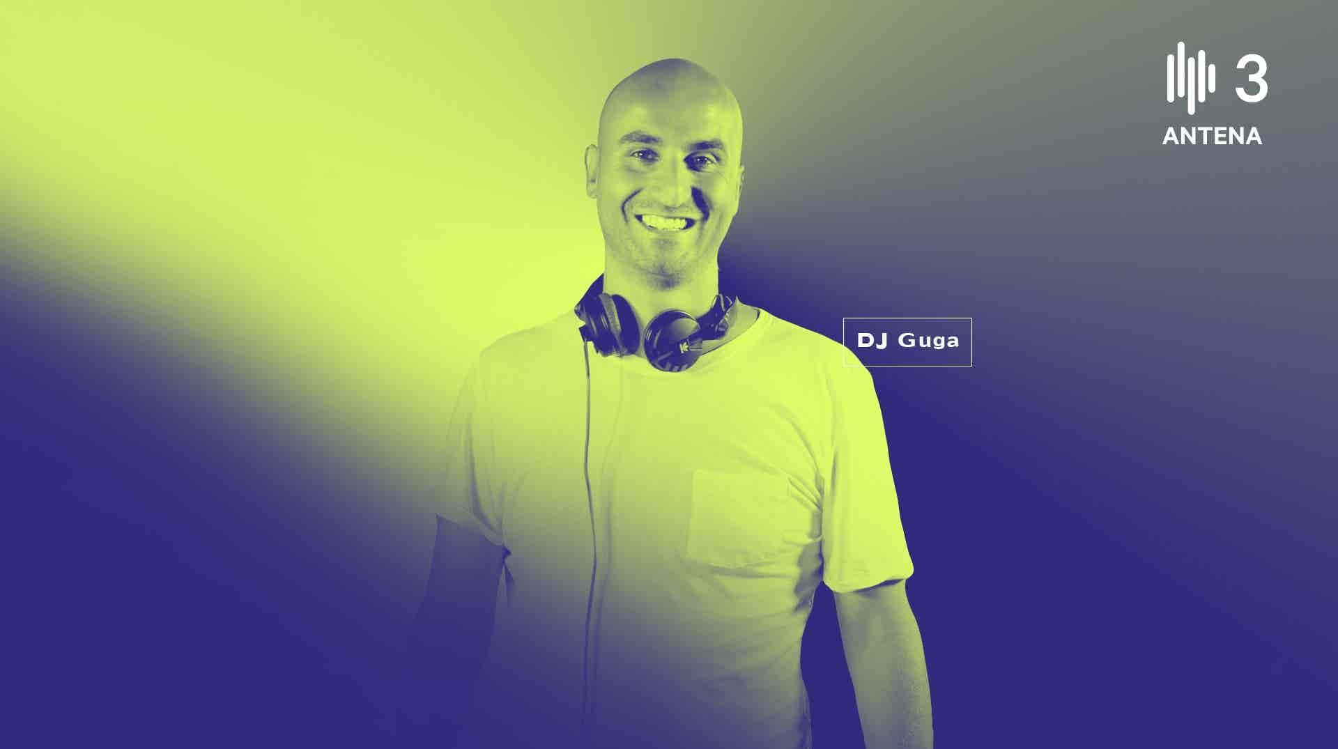 A dança alternativa na Antena 3 com DJ set e apresentação de DJ Guga. Online em: facebook.com/3dantena3 | facebook.com/djgugaoficial