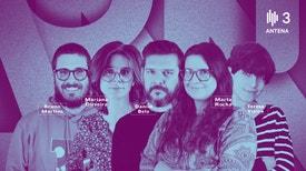 Domínio Público (Rubrica) - 13h: Artistas açorianos em destaque no Tremor Todo-o-Terreno. Organização do festival anuncia primeiros nomes para a edição de setembro; fotografia de José Pedro Cortes exposta em Lisboa; «Selfie Destruction», o novo álbum de PZ é o nosso Disconexo da se