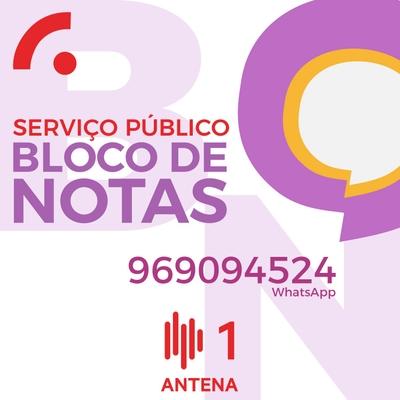 Serviço Público - Bloco de Notas