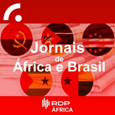 Jornais de África e Brasil