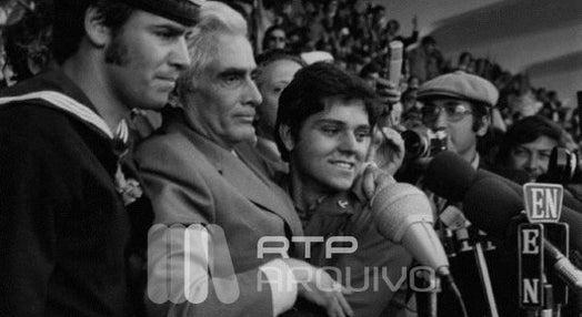 Álvaro Cunhal no 1º de Maio de 1974