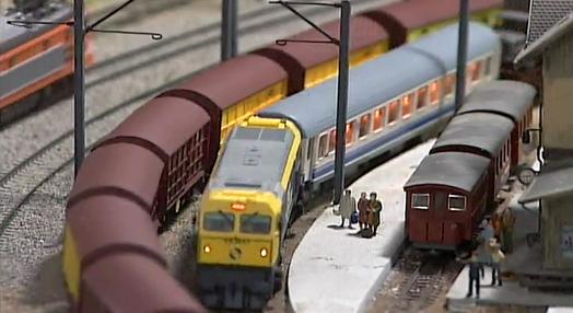 Coleccionismo de Miniaturas de Comboios