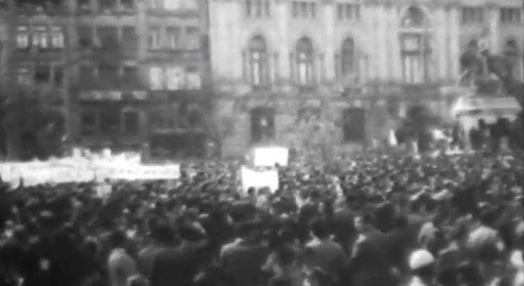 Comemoração do 1º de Maio de 1974 no Porto