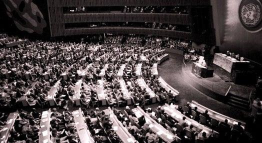 Discurso de Medeiros Ferreira na ONU