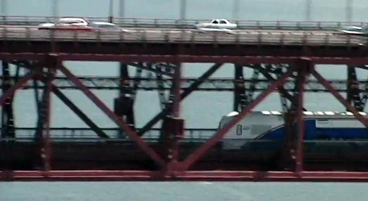 Inauguração da Travessia de Comboio na Ponte 25 de Abril
