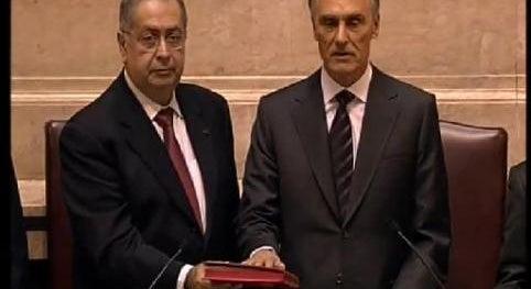 Juramento de Cavaco Silva como Presidente da República
