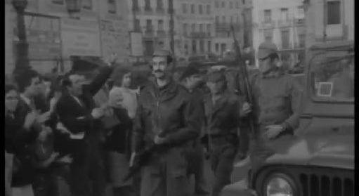 Manifestação de Apoio ao MFA em Lisboa