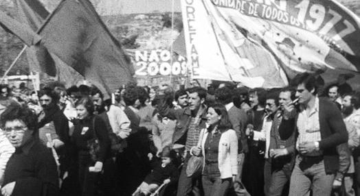 Manifestação do 1º de Maio de 1977