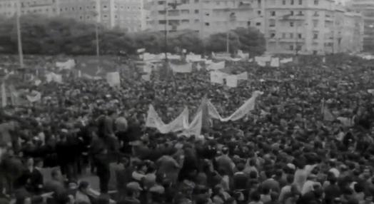 Manifestação do Dia 1º de Maio na Alameda D. Afonso Henriques