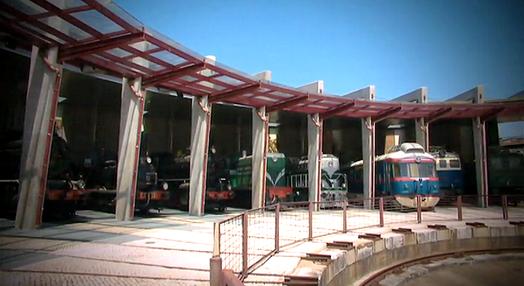O Museu Nacional Ferroviário