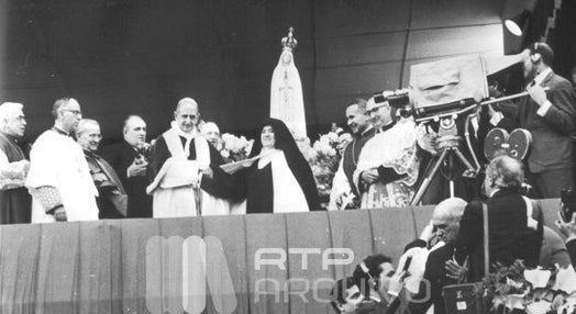 Papa Paulo VI em Fátima