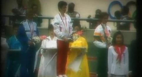 Recordação da Vitória de Rosa Mota em Seul 1988