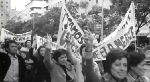 Reportagem da Emissora Nacional da Avenida da Liberdade