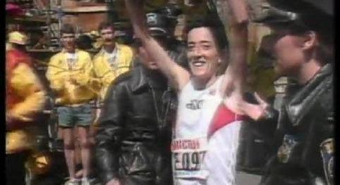 Rosa Mota Vence Maratona de Boston