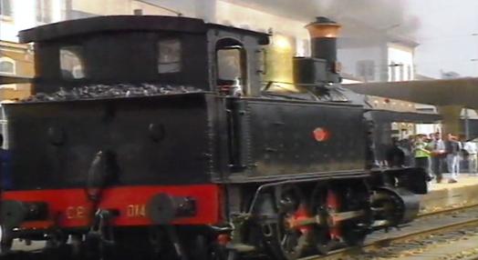 Viagem numa Locomotiva a Vapor