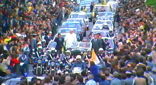 Visita de Sua Santidade o Papa João Paulo II a Portugal