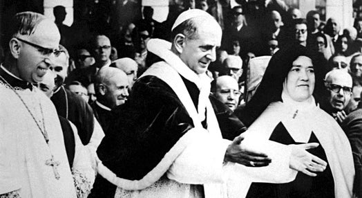 Visitas do Papa a Portugal