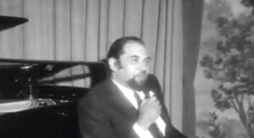 Conferência de imprensa do Maestro José Atalaya
