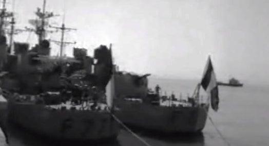 Chegada de navios franceses ao rio Tejo
