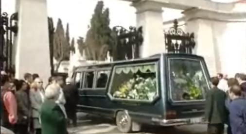 Funeral de Rómulo de Carvalho