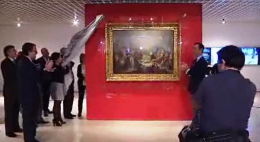 Quadro no Museu de Arte Antiga