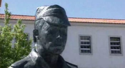 Inauguração da estátua de Salgueiro Maia