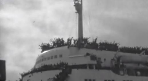 Embarque de tropas para o Ultramar