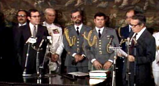 Tomada de posse do IX Governo Constitucional